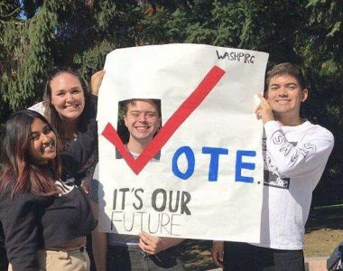 Campus voter turnout doubles from 2014 – 2018.