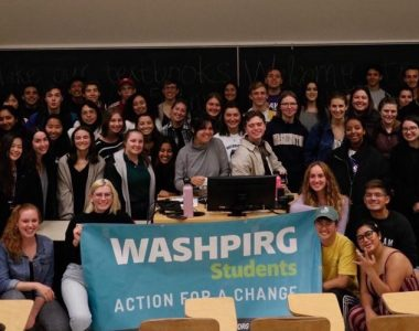 WashPIRG's fall quarter goals for sustainability, voting accessibility, and homelessness